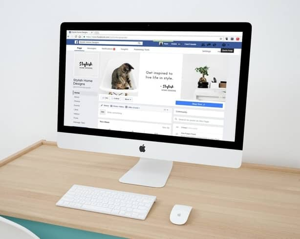 A business facebook page for facebook advertisements.